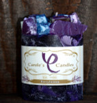 "Berrylicious Scented Pillar Gem Top Candle - 4""x5"""