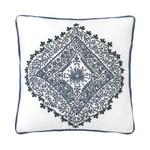 "Dena Atelier Indigo Dream 18""W x 18""L Medallion Decorative Pillow"