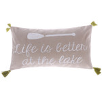 Levtex Life Is Better At The Lake Oblong Pillow