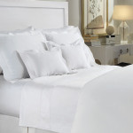 DownTown Company Paula Coverlet - White