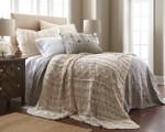 Amity Home Micah Knitted Coverlet - Natural