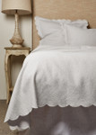 Amity Home Hugo Matelassé Coverlet - White