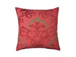 Lili Alessandra Mackie European Pillow - Cinnabar Linen / Cinnabar Velvet / Soutache