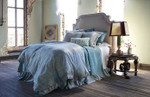 Lili Alessandra Mackie Duvet Cover - Taupe with Sea Foam