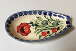 Boleslawiec Polish Pottery Spoon Rest - Poppy Field