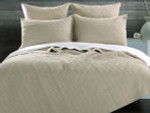 Greenland Home Fairfax Taupe Quilt Set