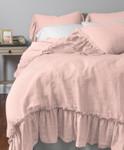 Amity Home Caprice Duvet Cover - Petal Pink