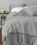 Amity Home Caprice Duvet Cover - Platinum Grey