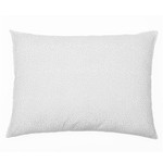 Pom Pom and Home Dot Hand Blocked Pillow - Silver
