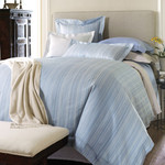 Luxe Carina Delphinium Bed Skirt