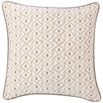 Luxe Albero Linen Zinc Decorative Pillow