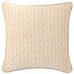 Luxe Albero Linen Semolina Decorative Pillow