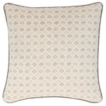 Luxe Aria Linen Zinc Decorative Pillow