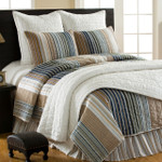 Amity Home Ruched Quilt - Ivory