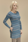 Bamboo Dreams® Jill Dress - Artist Stripe