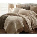 Amity Home Ada Jacquard Duvet Cover - Natural