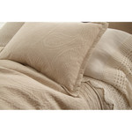Amity Home Ada Jacquard Pillow Sham - Natural