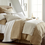 Amity Home Brayden Natural Stripes Duvet Cover