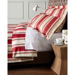Amity Home Camden Duvet Cover - Red