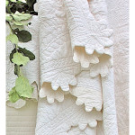 Amity Home Charleston Quilt - Ivory