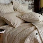 Amity Home Clayton Quilt - Ivory