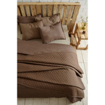 Amity Home Clayton Quilt - Taupe