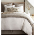 Amity Home Dale Linen Quilt - Grey Chambray
