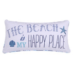 Levtex Beach Is My Better Place Oblong Pillow