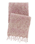 Pine Cone Hill Chunky Knit Pink Throw