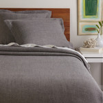 Amity Home Iven Linen Coverlet - Pewter