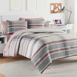 IZOD Hyde Blue/Red Comforter Set
