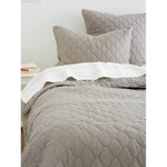 Amity Home Mossett Quilt - Grey