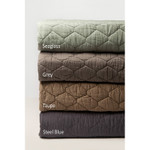 Amity Home Mossett Quilt - Taupe