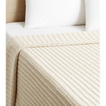 Amity Home Sam Knitted Coverlet - Natural