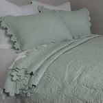 Amity Home Shantoon Quilt - Aqua