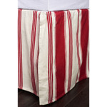 Amity Home Camden Bed Skirt - Red