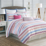 Southern Tide Long Bay Stripe Comforter Set