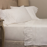 Amity Home Lace Sheet Set - White
