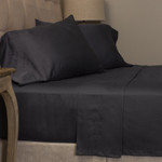 Amity Home Mossett Cotton Sateen Sheet Set - Steel Blue
