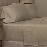 Amity Home Mossett Cotton Sateen Sheet Set - Taupe