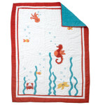 Amity Home Under The Sea Baby Quilt