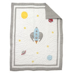 Amity Home Rocket Man Baby Quilt