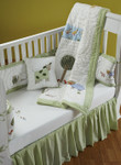Amity Home Farmyard Baby Quilt