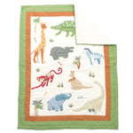 Amity Home Jungle Baby Quilt
