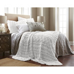 Amity Home Micah Knitted Coverlet - White