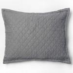 Amity Home Dale Linen Dutch Euro Pillow - Neutral Grey