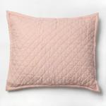 Amity Home Dale Linen Dutch Euro Pillow - Petal Pink
