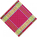 Jacquard Weave Cotton Napkin - Prodige Fuschia