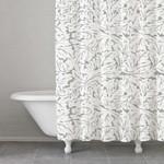 Kassatex Foglia Shower Curtain - Grey