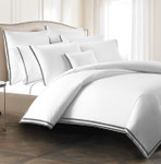 Kassatex Torino Pillowcases  - Pewter (Set of 2)